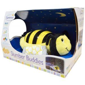 Summer Infant Yellow/Black Slumber Buddies Night Light, Bumble Bee Betty