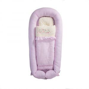 Sunveno Baby Co-Sleeping Bed - Organic - Pink