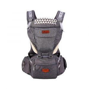 Sunveno Grey Kangaroo Style Ergonomic Baby Carrier