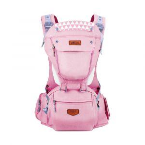Sunveno Pink Kangaroo Style Ergonomic Baby Carrier