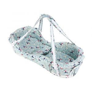 Sunveno Bird Flower Portable Baby Crib Basket