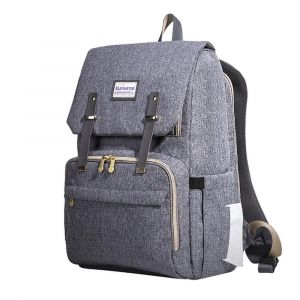 Sunveno Grey Travel Diaper Bag - XL