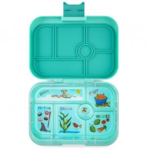Yumbox Original Surf Green Lunch Box- 6 Compartments