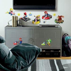 Room Mates Mario Kart Wii Wall Decals