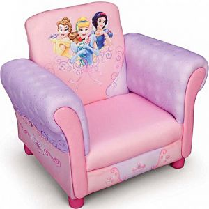 Delta Children Princess Upholstered Chair