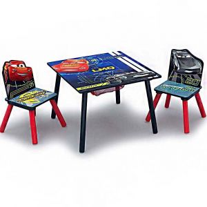 Delta Children Cars Mouse Table Chair