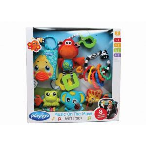 Playgro - Music On The Move Baby Gift Pack