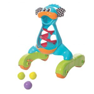 Playgro Blue/Green Walk with Me Dragon Activity Walker