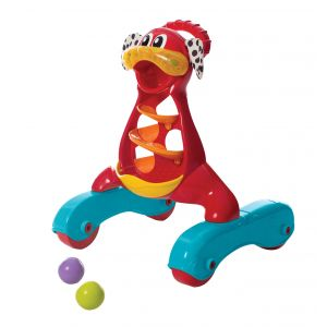 Playgro Red/blue Step By Step Music & Lights Puppy Walker