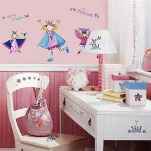 Room Mates Fairy Princess Appliques