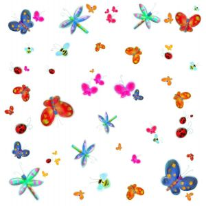 Room Mates Jelly Bug Appliques Decals