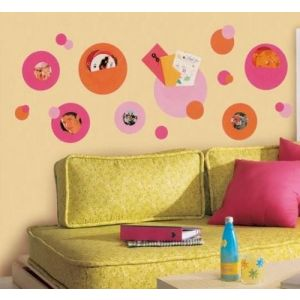 RoomMates Wallpockets - Pink Peel & Stick Wall Decals