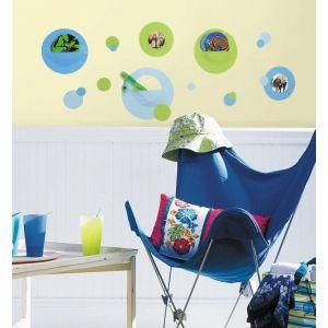 RoomMates Wallpockets - Blue Peel & Stick Wall Decals