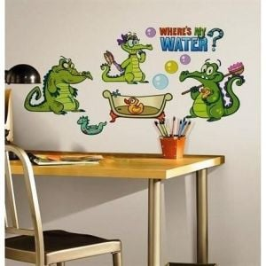 Room Mates Where's My Water Wall Decal