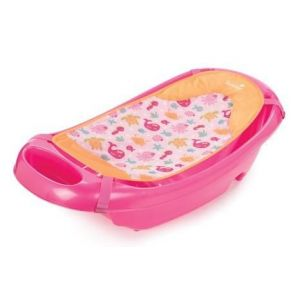 Summer Infant Pink Splish N Splash Baby Bath Tub