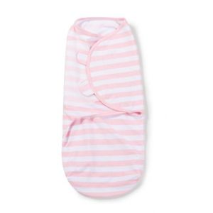 Summer Infant - Original Swaddle Small - Pink & White Stripe