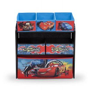 Delta Children Cars Multi Bin Toy Organizer