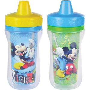 The First Years Mickey Insulated Sippy Cup - 2pcs