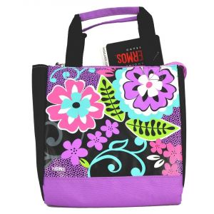 Thermos Black Flora Lunch Bag