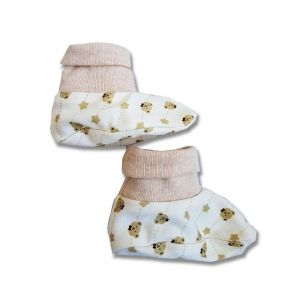 Tickle Tickle Brown Bear Booties - Brown