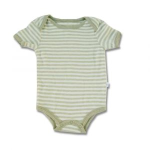 Tickle Tickle Cub Striped Bodysuit - Green