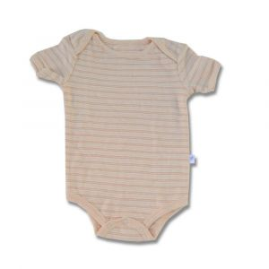 Tickle Tickle Cub Striped Bodysuit - Tan
