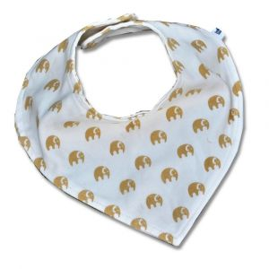 Tickle Tickle Elly Bandana Bib - Yellow