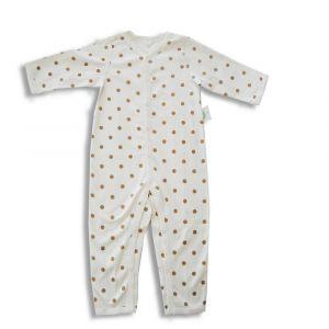 Tickle Tickle Lil Dottie Sleepsuit - Brown