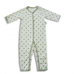 Tickle Tickle Lil Dottie Sleepsuit - Green