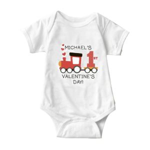 Valentine Train Onesie