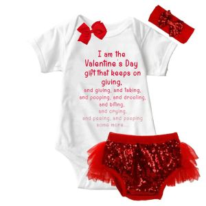 Valentine Gift Onesie & Tutu Set