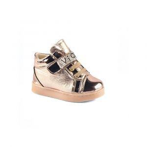 Vicco 221.V.151 Girl Light up Shoes - Gold
