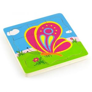 Viga Grow-Up Puzzle - Butterfly
