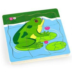 Viga Grow-Up Puzzle - Frog