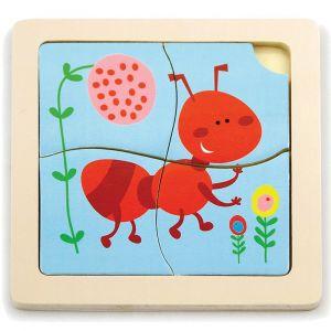 Viga Handy Flat Puzzle Ant