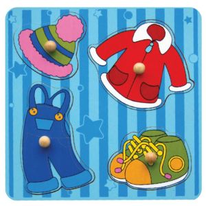 Viga Whats Inside Puzzle-Clothes