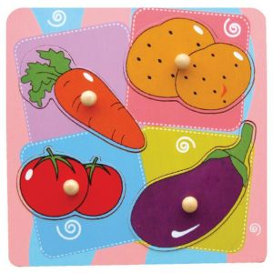 Viga Whats Inside Puzzle-Vegetables