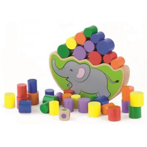 Viga Wooden Balancing Game - Elephant