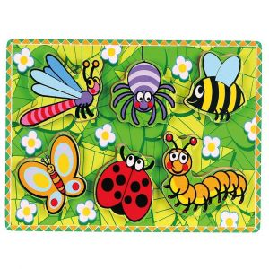 Viga Wooden Puzzle Insects