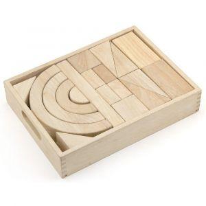 Viga Wooden Unit Block Set - 46 Pcs