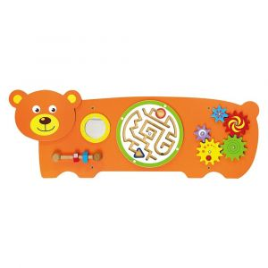 Viga Wooden Wall Toy - Bear