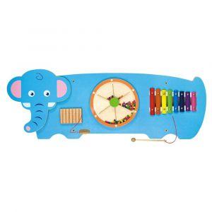 Viga Wooden Wall Toy - Elephant