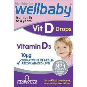 Vitabiotics Wellbaby Vit D Drops 30ml