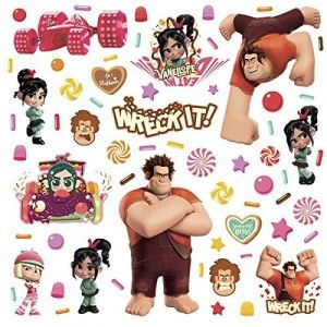 Room mates Wreck It Ralph Peel & Stick Wall Decals