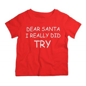 Twinkle Hands Christmas I Really Did Try T-Shirt