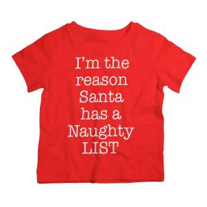 Twinkle Hands Christmas Naughty List T-Shirt