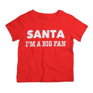 Twinkle Hands Christmas I Am A Big Fan T-Shirt
