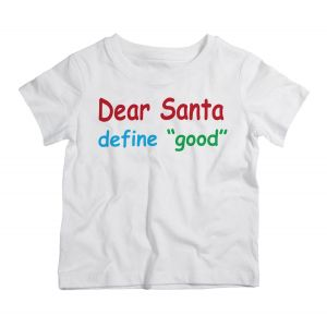 Twinkle Hands Christmas Define Good White T-Shirt