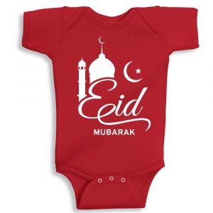 Twinkle Hands Red Eid Mubarak Onesie