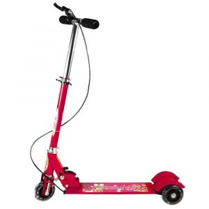 Well Play 3 Wheeler Foldable Scooter - Red